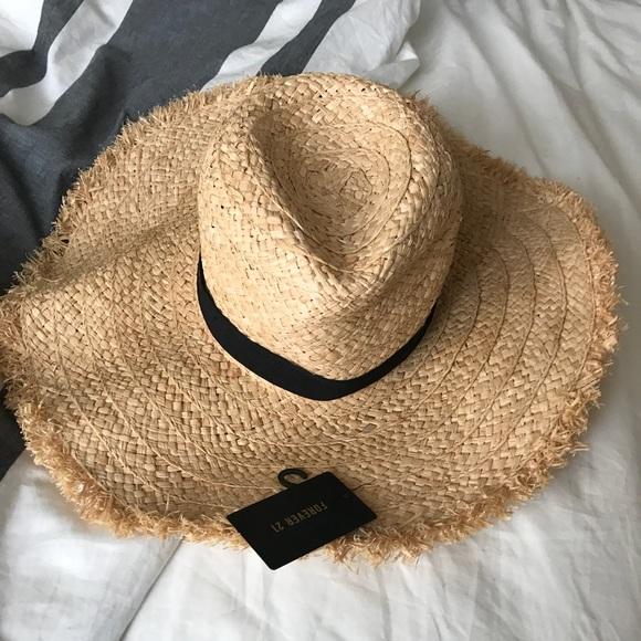 31414e7b Forever 21 Accessories | Floppy Straw Hat | Poshmark
